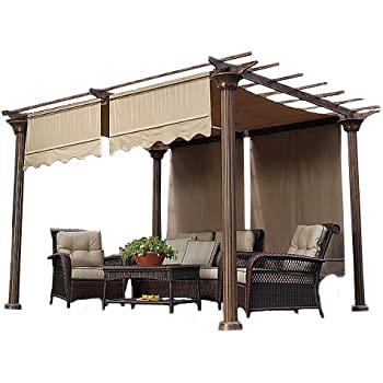 Garden Winds Universal Replacement Pergola Canopy Ii