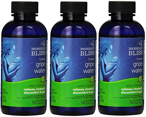 Mommys Bliss Gripe Water Original, 4 Ounce (Pack of 3)