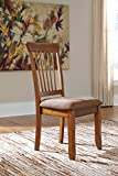 Cheap Berring Rustic Brown Dining Side Chairs, Set of 2