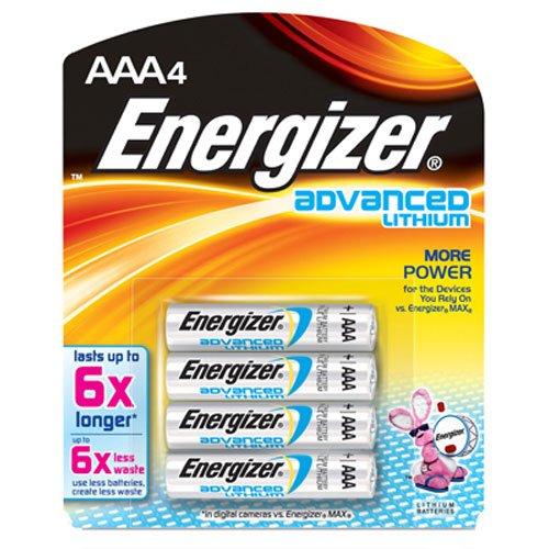 - Energizer Holdings EVEEA92BP4 EA92BP-4 Advanced Lithium General Purpose Battery
