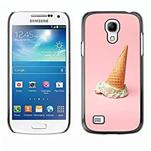 MOBMART Carcasa Funda Case Cover Armor Shell PARA Samsung Galaxy S4 Mini i9190 - An Ice Cream Cone