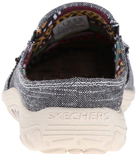 Skechers Reggae Fest mula Black Linen
