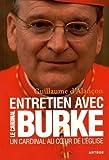 img - for Un cardinal au coeur de l'Eglise : Entretiens by Raymond Leo Burke (2015-09-17) book / textbook / text book