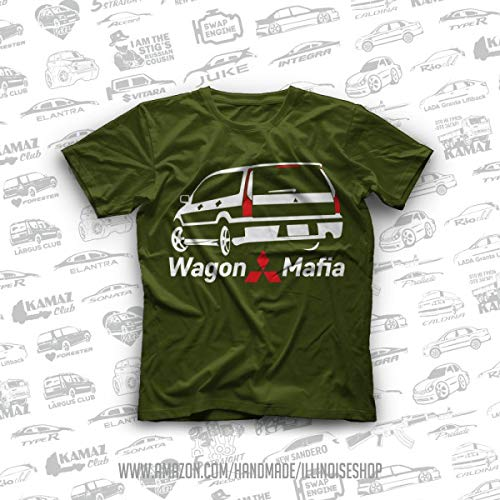 2000 Mitsubishi Lancer Cedia Wagon Ralliart Original T-Shirts 100% Cotton Free Shipping