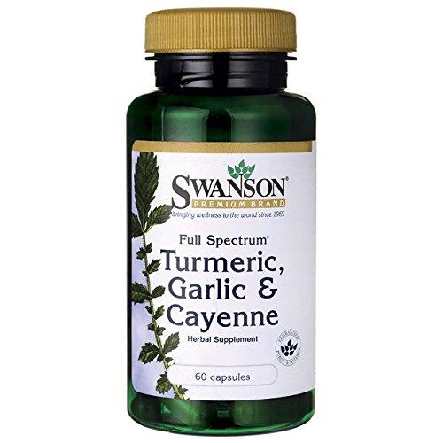 Swanson Spectrum Turmeric Garlic Cayenne