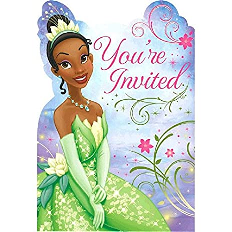 Amazoncom Amscan Dazzling Disney Tiana Enchanted Birthday Party