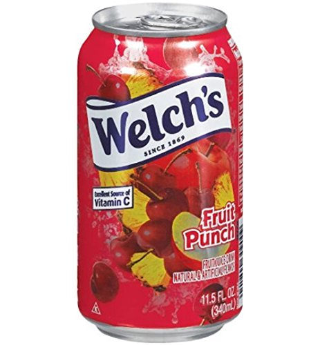 (Welch's Fruit Punch Drink , 11.5-Ounce Cans (Pack of 24))