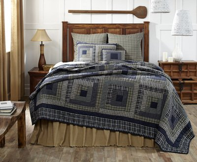 VHC Brands Columbus Luxury King Quilt 105x120