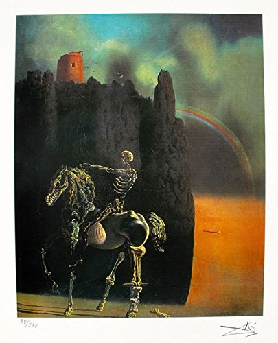 Amazon com: Artwork by Salvador Dali Horseman Of Death