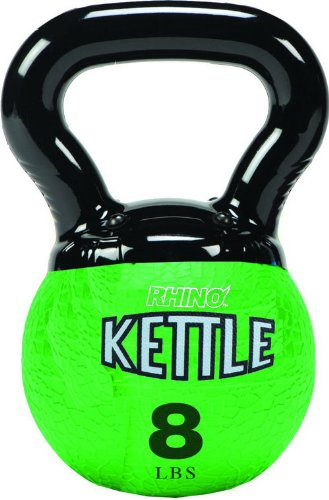 Champion Sports Kettle Bell Weights, 8-Pound by Champion Sports