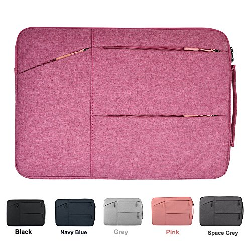 Notebook Sleeve Top Loading (13-13.3 Inch Water-Resistant Shockproof Laptop Sleeve with Handle for 13 Inch Macbook Pro 2016 Retina, Macbook Air 13.3