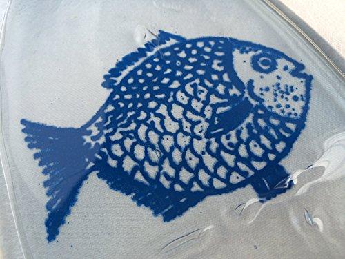 Big-Fish-Melted-Wine-Bottle-Spoon-Rest-Wine-Bottle-Tray
