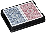 Springbok Kem Arrow Narrow Jumbo Index Playing Cards Red and Blue Decks Jumbo Index Playing Cards