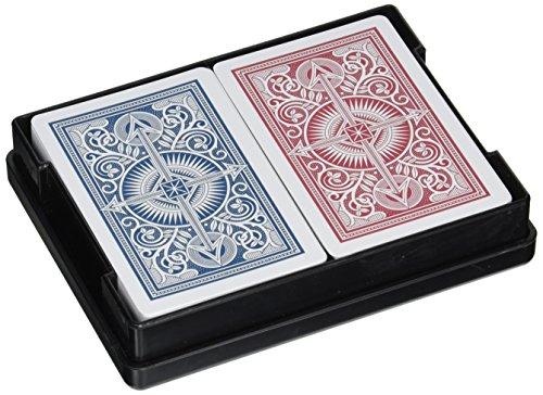 Kem Arrow Narrow Jumbo Index Playing Cards Red and Blue Decks Jumbo Index Playing Cards