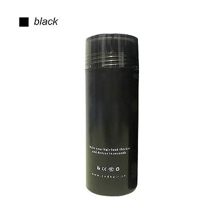 LiféUP Polvo Líquido Del Pelo Del Edificio Del Pelo Negro/Marrón ...