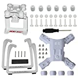 Action Camera Gimbal Mount Holder Adapter Bracket Spare Part for Hubsan H501S X4 H501C FPV Quad, Update Landing Gear Legs White