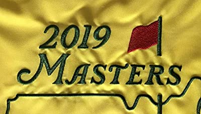 2019 Masters golf Flag Tiger Woods augusta national pin flag pga new