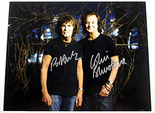 Rod Argent Colin Blunstone Signed 11x14 Color Photo The Zombies 2 Auto DF023875