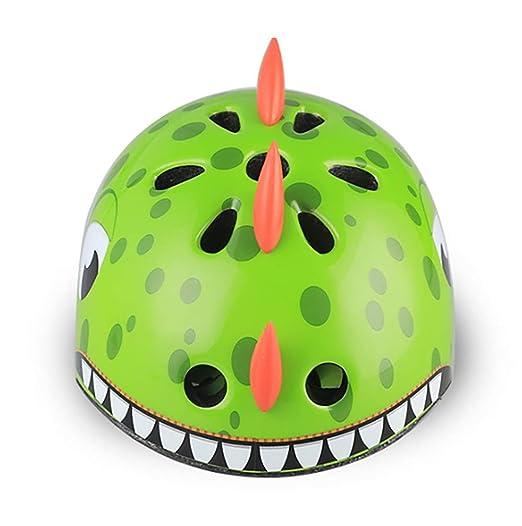 Amazon.com: Kids Cycle Helmet,CE Certified Kids Childrens 3D Cartoon ...