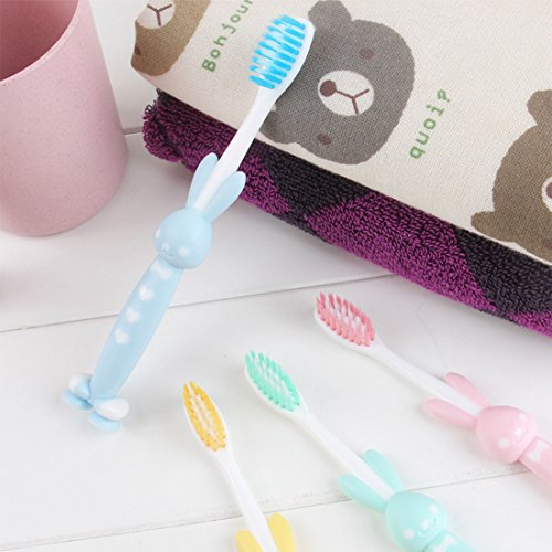 Daystyle Cute Stand-up Children/kid/adult Toothbrush with Sucker (5 Pack Little Bear) by Daystyle (Image #4)