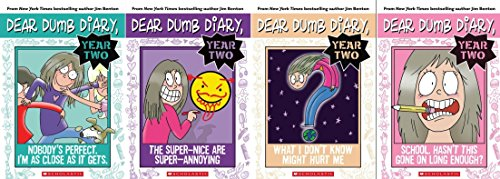 (Dear Dumb Diary Year 2 Book Set: Includes Books 1-4: School. Hasn't This Gone on Long Enough? / The Super-Nice are Super-Annoying / Nobody's Perfect, I'm As Close As It Gets / What I Don't Know Might Hurt Me)