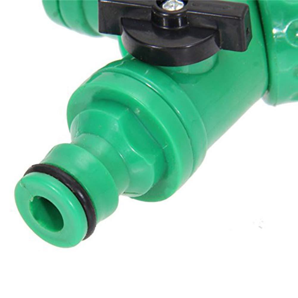 Ndier Jardin tuyaux Souples Tube Splitter 2 Way Adaptateur Connecteur Rampes /à pendillards Y Quick Tap D/ésactiver loutil 1Pc Produits pour Maison//Cuisine