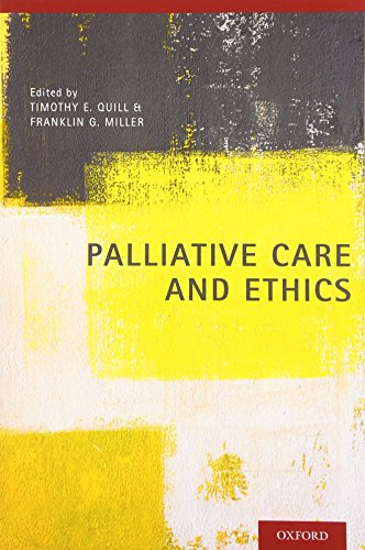 Palliative Care and Ethics by Oxford University Press