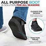 BraceAbility Closed Toe Medical Walking Shoe