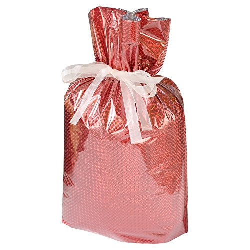 - 4-piece Jumbo Diamond Gift Bags (2-gold, 1-silver, 1-red)