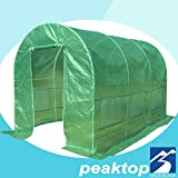 Peaktop® Greenhouse 12' X 7' X 7' Large Outdoor Green House Plant Gardening Garden New