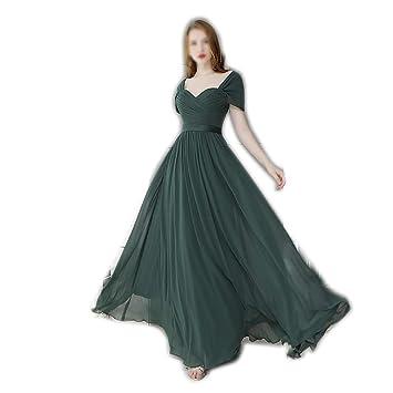 ZSRHH-Falda Vestido de Mujer Vestido de Noche con Hombros ...