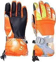 TRIWONDER Kids Winter Ski Gloves Windproof Snow Gloves Outdoor Touchscreen Snowboard Gloves Mittens