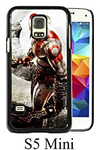 Great Quality Samsung Galaxy S5 Mini Case ,Kratos God Of War Black Samsung Galaxy S5 Mini Cover Case Hot Sale Phone Case Unique And Beatiful Designed