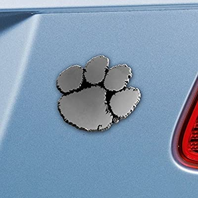 FANMATS NCAA Clemson University Tigers Chrome Team Emblem: Automotive