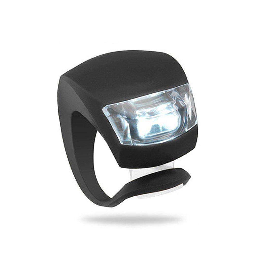 Demino 1/2/4 pezzi della bicicletta guida notturna la sicurezza Attenzione LED della rana della luce anteriore Fanale posteriore posteriore