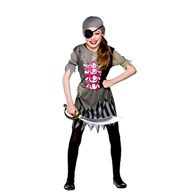 Halloween Zombie Costumes For Girls.M Zombie Pirate Girl Girls Zombies Costumes Kids Living Dead