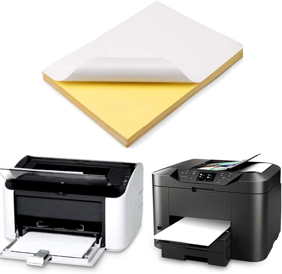 TSLBW 50 Hojas de Papel de impresión A4, Blanco, Resistente al Agua, Transparente, para impresión de Chorro de Tinta, trazado, Dibujo de Arquitectura, diseño gráfico: Amazon.es: Hogar