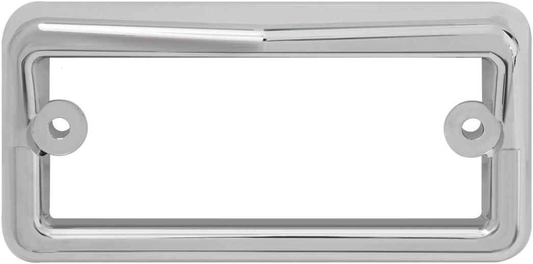 GG Grand General 96910 Chrome Plastic Sunvisor Light Bezel for Freightliner