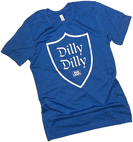 Anheuser-Busch, Dilly Dilly, Bud Light, Shield Adult T-Shirt, ()