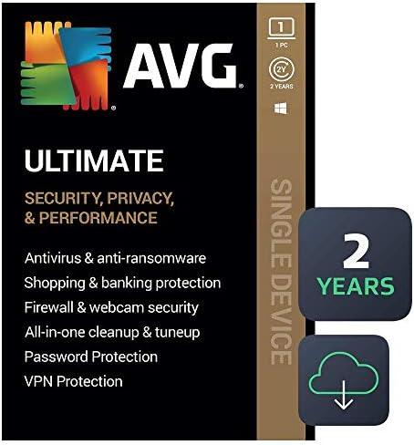 AVG Ultimate 2020   Antivirus+Cleaner+VPN   1 PC, 2 Years [Download]