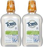 Tom's of Maine Children's Anticavity Rinse, Juicy Mint - 16 oz - 2 pk