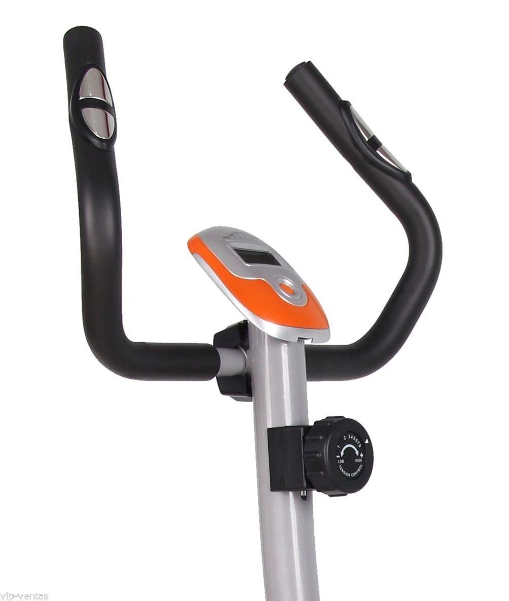 Bicicleta estática regulable con micro ordenador: Amazon.es: Deportes y aire libre