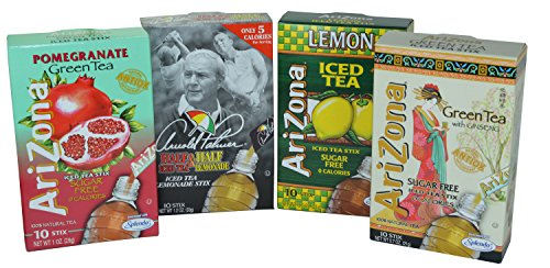 Tea Stix - Arizona Iced Tea Stix Variety Pack of 40 Stix