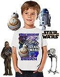 Star Wars BB8 Birthday Shirt, ADD any name & age, Happy Birthday Shirt, FAMILY Matching Shirts, BB8, Star Wars shirt, VISIT OUR SHOP!!