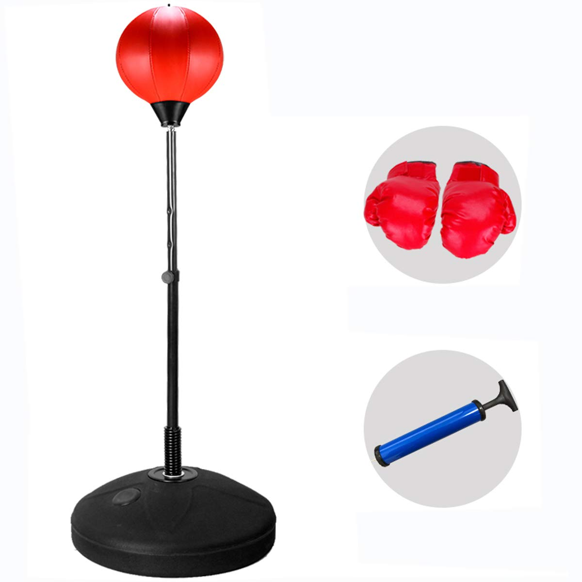 人気ブランドを Tonyko 調節可能 自立式 B07MGXRB1D パンチングスピードボールバッグ Tonyko ボクシンググローブ付き 調節可能 B07MGXRB1D, 爆売り!:92e243dd --- a0267596.xsph.ru