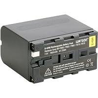 Watson NP-F975 Lithium-Ion Battery Pack (7.4V, 7800mAh) - Replacement for Sony NP-F970 Fits Sony DCR-SD1000 , DCR-SR40 , DCR-TRV900 , DCR-VX2000 , DCR-VX2100 , DCR-VX2200 , HDR-AX2000 , HDR-FX1 , HDR-FX7 , HDR-FX1000 , HVR-HD1000 , HVR-V1 , HVR-Z1 , HVR-Z5 , HVR-Z7 , HXR-MC1500 , HXR-MC2000 , HXR-NX5 , NEX-EA50 , NEX-FS100 , NEX-FS700