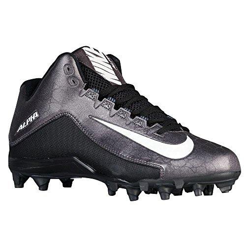 Pictures of New Nike Men's Alpha Strike 2 Variation Black/Metallic Dark Grey 4