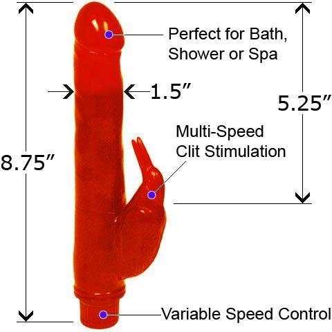 Bath Tub Birdie Waterproof Vibe 8.75 Inch ASSORTED COLORS by Top Cat