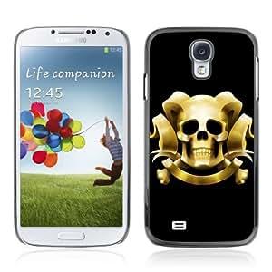YOYOSHOP [Cool Skull With Horns] Samsung Galaxy S4 Case