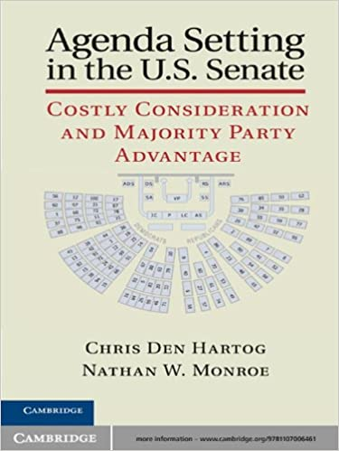 Agenda Setting in the U.S. Senate - Kindle edition by Chris ...